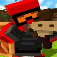 Blocky Gun Paintball 3 game