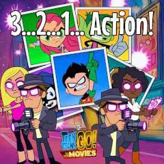 Teen Titans Go! 3…2…1… Action! game
