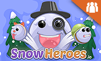 Snowheroes.Io game