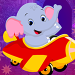 Sedate Elephant Cub Escape game