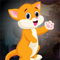 play Games4King Baby Gato Escape