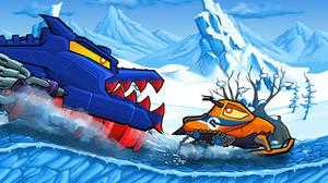 play Car Eats Car Winter Adventure