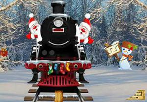 play New Year Find The Train Key