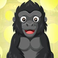 play Games4King Baby Gorilla Escape