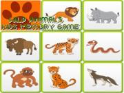 Kids Memory Wild Animals game