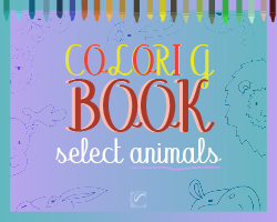 Coloring Book Select Animals game