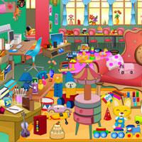 Girls-Messy-Room-Objects game