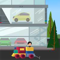 Baby-Train-Escape-Escapegameszone game