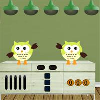 play 8Bgames Witch Owl Escape