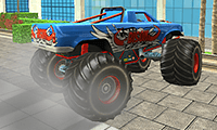 Monster Truck: City Parking game