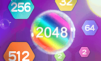 play Block Hexa Merge 2048