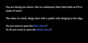 The Two Doors game