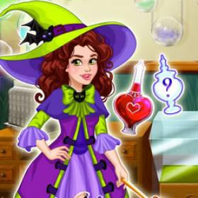 Olivia'S Magic Potion Shop - Free Game At Playpink.Com