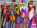 Tris Winter Fashion Dolly Dressup game