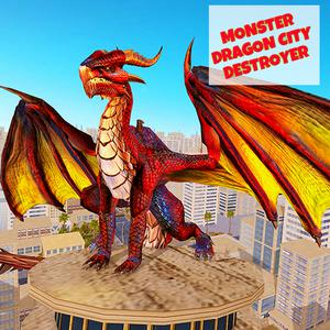 play Monster Dragon City Destroyer