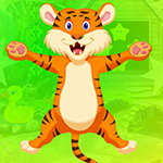 Very Cheerful Tiger Escape game