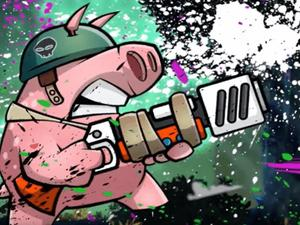 play Piggy Soldier Super Adventure