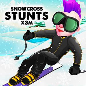 Snowcross Stunts X3M game