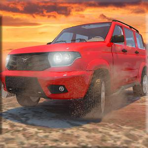 play Offroad Prado Ice Racing