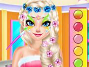 play Princesses Face Painting Salon
