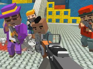 play Gungame Shooting Warfare Blocky Gangster