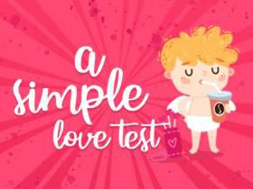 A Simple Love Test - Free Game At Playpink.Com game
