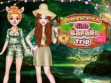 Princess Girls Safari Trip game