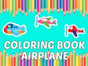 play Coloring Book Airplane