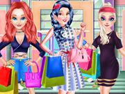 play Princess Winter Shopping Show
