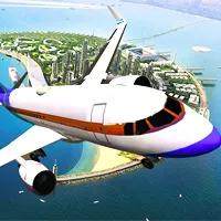 Airplane Simulator Island Travel game