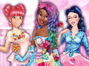 play Sweet Party With Princesses