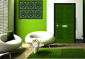Green Modern House Escape game