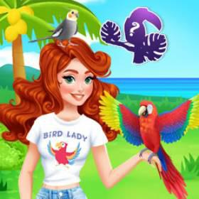 play Exotic Birds Pet Shop - Free Game At Playpink.Com