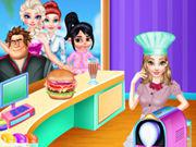 Princess Belle Cooking Dash game