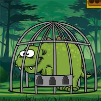 Games2Jolly Baby Stegosaurus Escape game