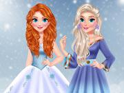 Princess Influencer Winter Wonderland game
