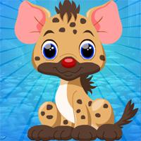 Games4King Little Hyena Escape game
