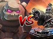 Tank Vs Golems game