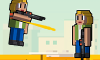 Rooftop Shooter game