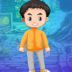 Boy Escape From Jungle House game