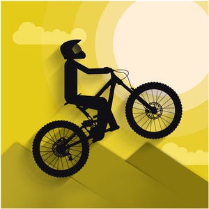 Stunt Hill Biker game