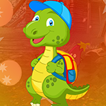 Dinosaur Escape With Backpack game