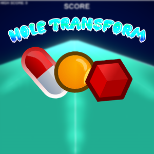 Hole Transform game