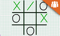 play Tic Tac Toe Paper