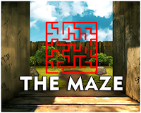 Escape From Maze Wall game