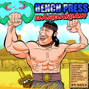 Bench Press The Barbarian game