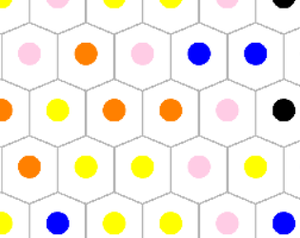 Hexadots game