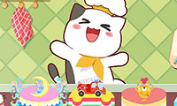 play Kitty Bake Cake