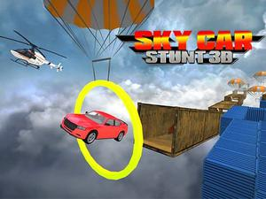 play Sky Car Stunt 3D
