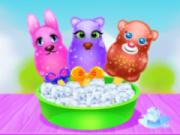 Fluffy Animals Ice Pops Maker game